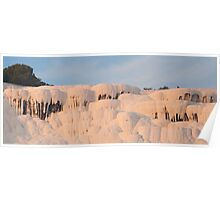 Pamukkale hot springs Poster