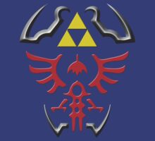 Hylian Crest by lonewolfblues