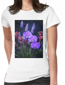 Aussie Flower Arrangement Womens Fitted T-Shirt