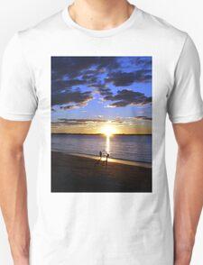 Frisbee Sunset T-Shirt