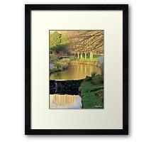Sefton Park on a December Day  Framed Print