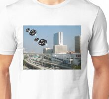 Aliens invade downtown Miami Unisex T-Shirt
