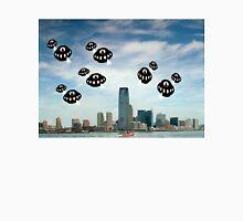 Aliens invade Jersey City Unisex T-Shirt