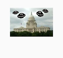 Aliens invade Providence Rhode Island Unisex T-Shirt
