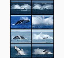 Humpback Whales Breaching 1 Unisex T-Shirt