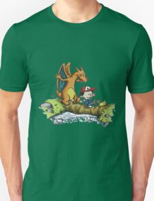 calvin meets charizard T-Shirt