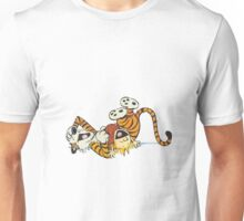 calvin and hobbes rotfl Unisex T-Shirt