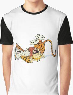 calvin and hobbes rotfl Graphic T-Shirt