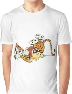 calvin and hobbes rotfl Graphic T-Shirt