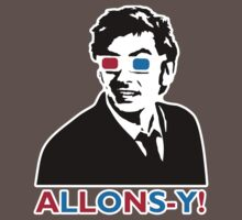 Allons-y! in black One Piece - Short Sleeve