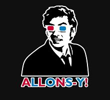 Allons-y! in black Unisex T-Shirt