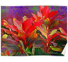 Foliage Fantasia Poster
