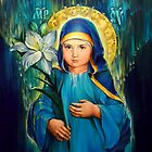 Mother Of God Three-Years-Old  by Natalia Lvova