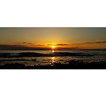 Sunset over Solway Firth.2 Photographic Print