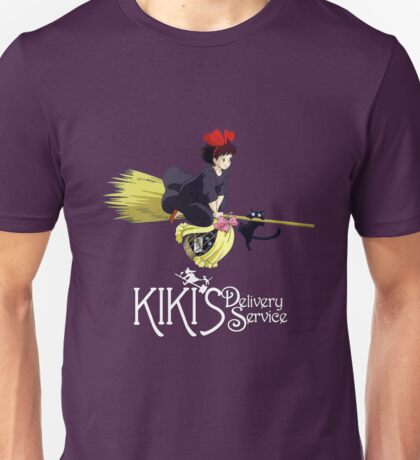 Kiki's Delivery Service-Studio Ghibli Unisex T-Shirt