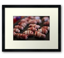 Pigs in Blankets Framed Print