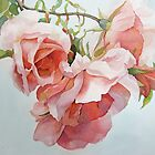 Climbing Roses by Anne Bonner