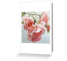 Climbing Roses Greeting Card
