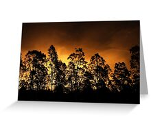 Gold Afternoon Fix Greeting Card