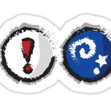 Distressed Animal Crossing Items  Sticker