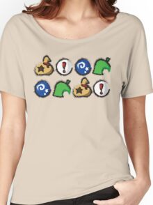 Distressed Animal Crossing Items 2  Women's Relaxed Fit T-Shirt