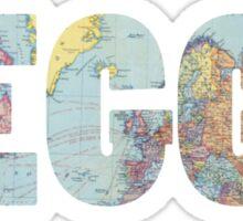 LEGGO Travel t-shirt Sticker