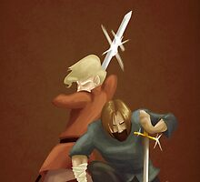 Kingslayer and Wench by Smoucan