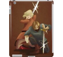 Kingslayer and Wench iPad Case/Skin