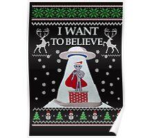 Ugly Christmas Sweater- Super Ugly Christmas Sweater-Magical Ugly Christmas  Poster