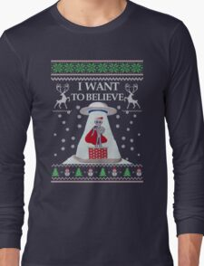 Ugly Christmas Sweater- Super Ugly Christmas Sweater-Magical Ugly Christmas  T-Shirt