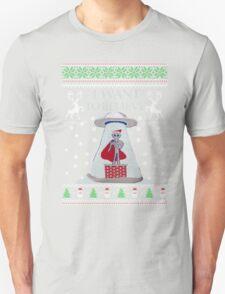 Ugly Christmas Sweater- Super Ugly Christmas Sweater-Magical Ugly Christmas  T-Shirt