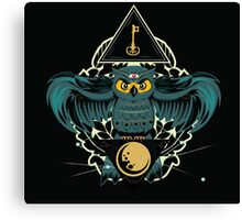 Owl Key Canvas Print