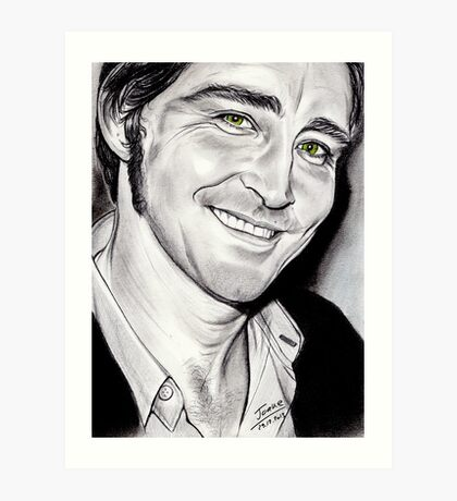 Lee PACE, irresistible smile Art Print