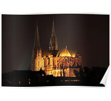 Chartres Cathedral, France Poster