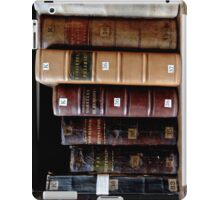 Book shelf iPad Case/Skin