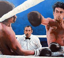 Raging Bull by Tom Roderick