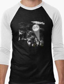 Catman Begins Men's Baseball ¾ T-Shirt