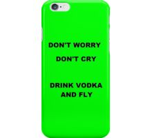 Vodka - Green iPhone Case/Skin