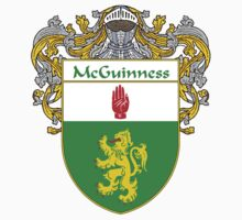 McGuinness Coat of Arms/Family Crest by William Martin