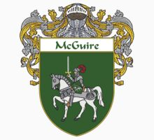 McGuire Coat of Arms/Family Crest by William Martin