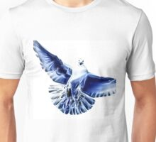 Wild nature - pigeon of peace Unisex T-Shirt
