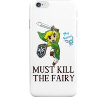 Link vs Fairy iPhone Case/Skin