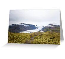 Vatnajökull Glacier Greeting Card