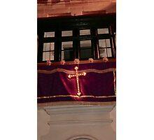 Malta Balcony Photographic Print