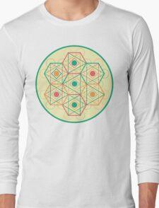 Circle, Square, Triangle Long Sleeve T-Shirt