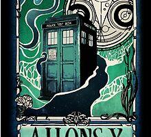 Dr. Who Nouveau by starrygazer
