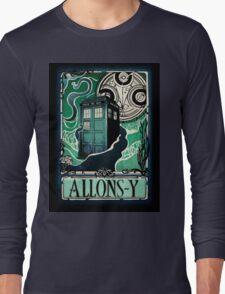 Dr. Who Nouveau Long Sleeve T-Shirt