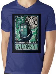 Dr. Who Nouveau Mens V-Neck T-Shirt