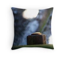 Bolted  Throw Pillow