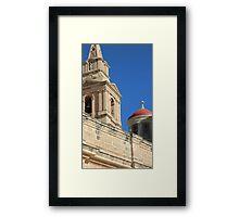 Malta Mellieha Parish Church Framed Print
